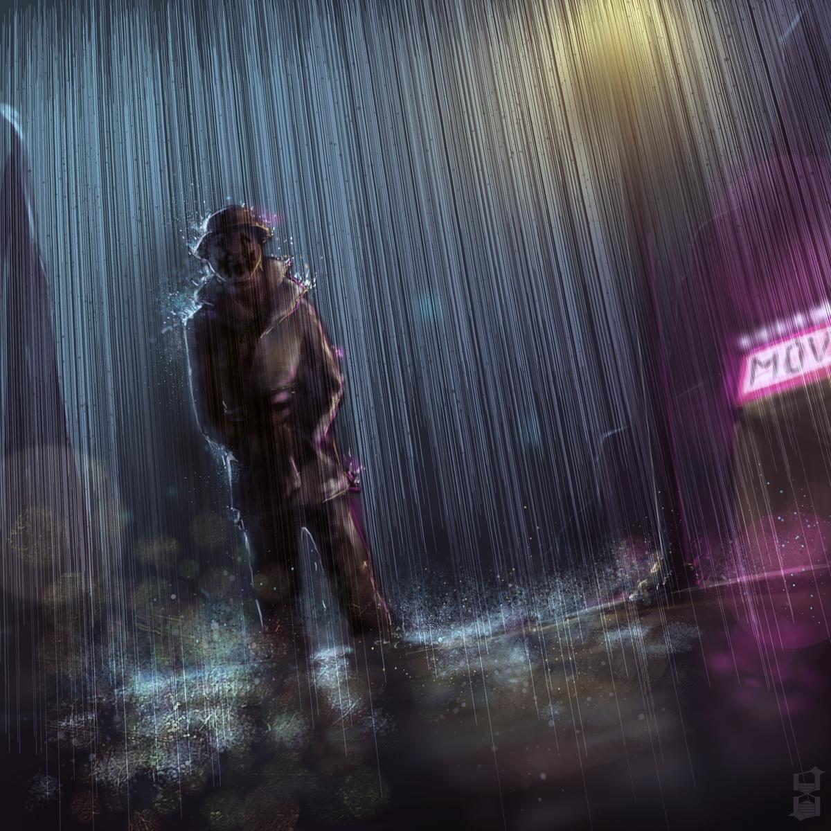 Under the rain by dekades8