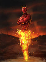 Ifrit by dekades8