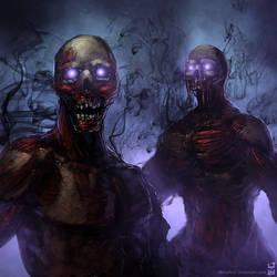 Cursed Dead by dekades8
