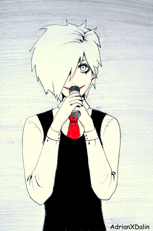 Death Kid White - Sing the Death Lullaby by AdrianXDalin