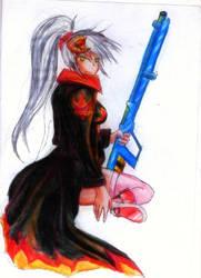 .Collab. Gunslinger by Noire-Ighaan