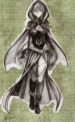 044 sketch. Althea