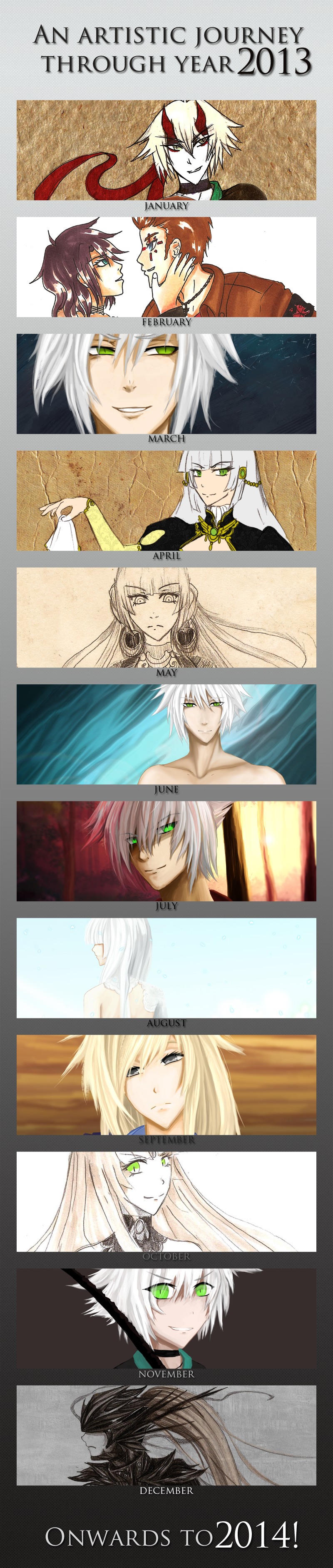 2013 Art Summary by Noire-Ighaan