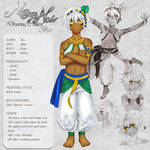 Bes - Character Card by Noire-Ighaan