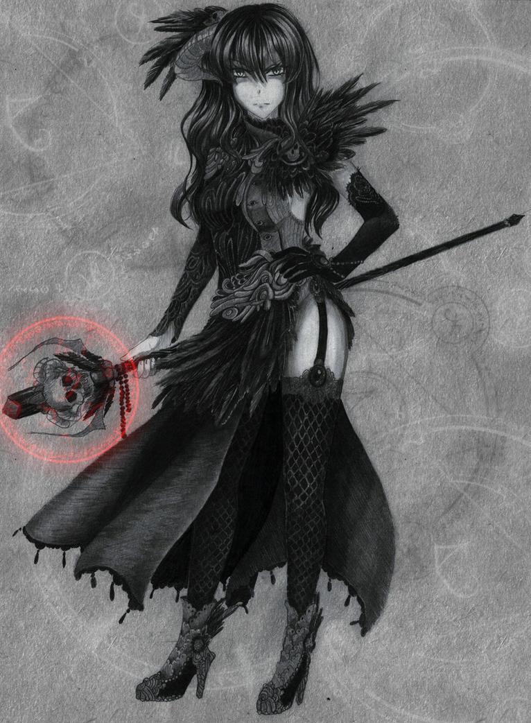 .Commission. Devil Warlock by Noire-Ighaan
