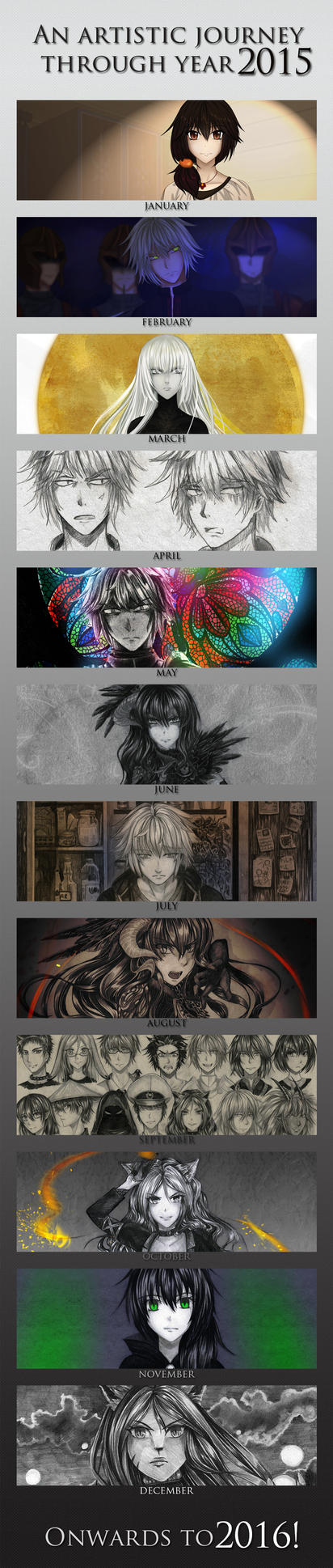 2015 Art Summary by Noire-Ighaan