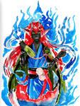 .Commission. Oni Fox