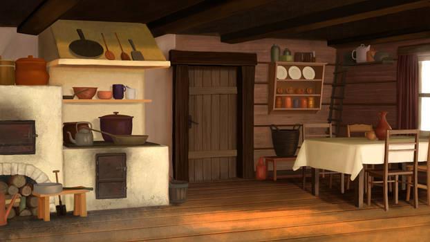 .Mirage Noir. Oldtime Kitchen