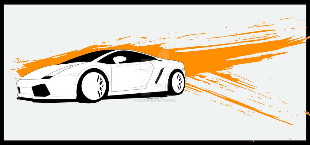 Lamborghini Gallardo Vector Art 1 By Pixelcarver On Deviantart