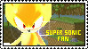 Super Sonic Stamp by Stampsandcrap
