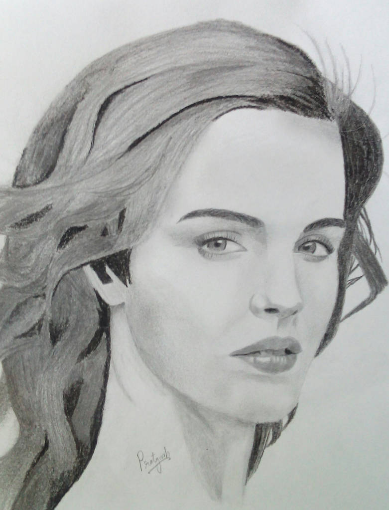 Emma watson pencil drawing by solixious on deviantart