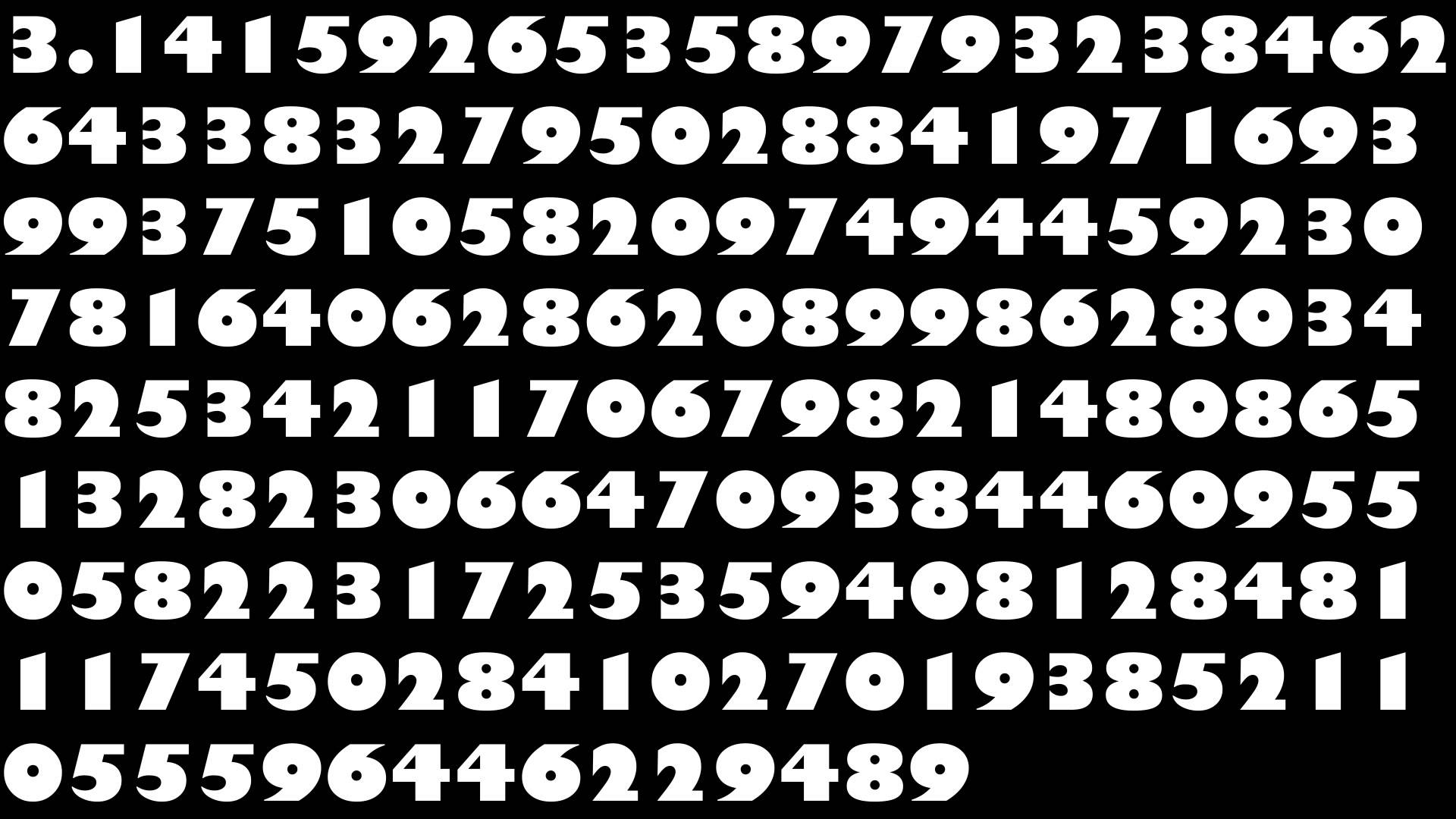 the number pi Pi (or π) is a mathematical constantit is the ratio of the distance around a circle to the circle's diameterthis produces a number, and that number is always the same however, the number is rather stra.