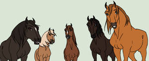 Retired Mares