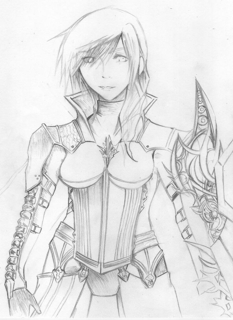 Lightning Returns WIP by Unleashed360