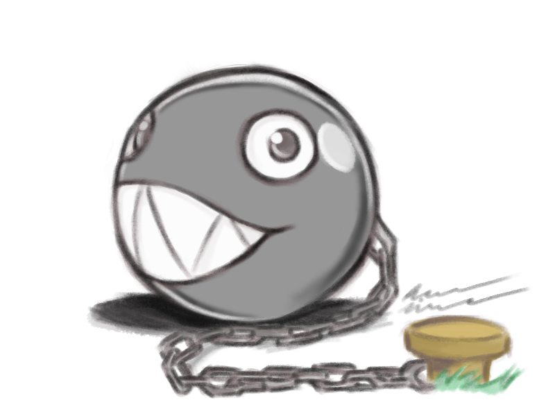 Cute Chain Chomp by Unleashed360