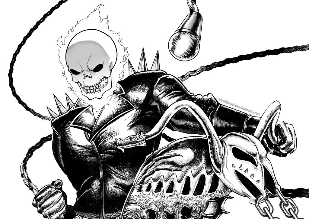 Ghost Rider by KiroFlugel