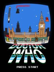 Tenth Doctor - Daleks Invading London (Pixel art)