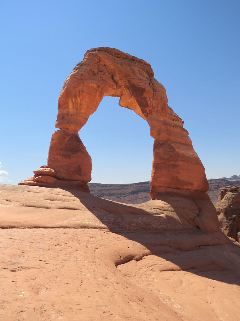 Delicate Arch by dolphinandcow