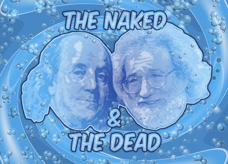 The Naked and The Dead by dolphinandcow