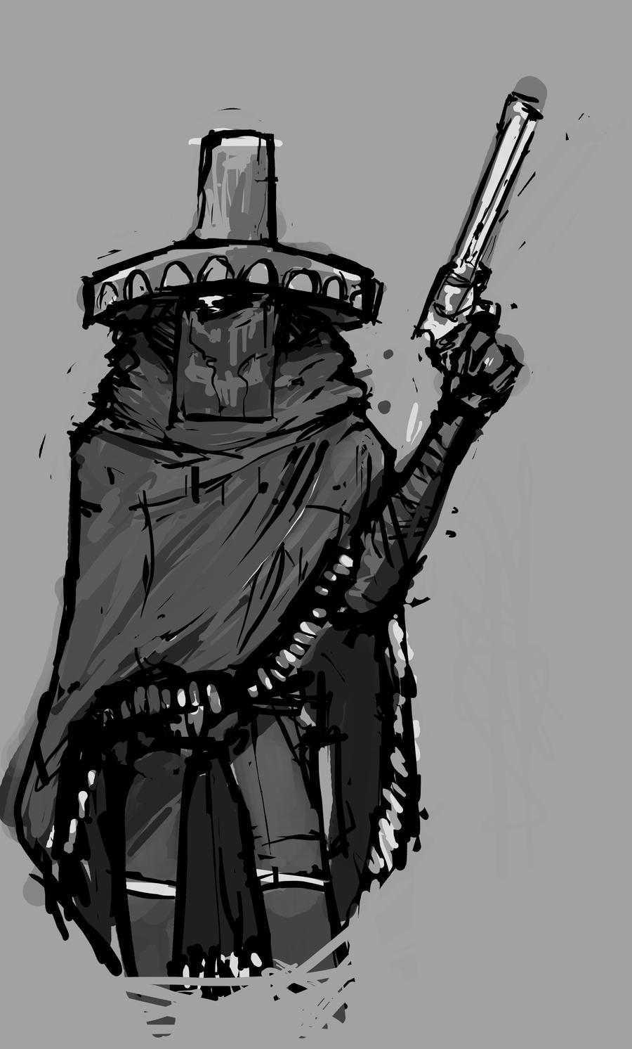BroQuest: Gunslinger by mahons