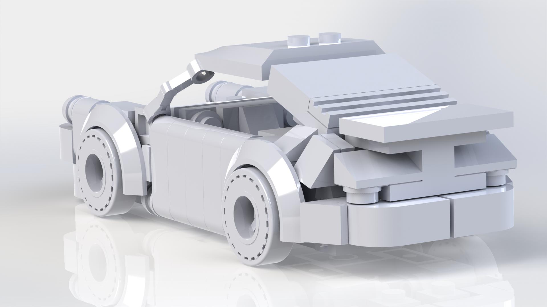 Lego Porsche 930 Porsche 930 Turbo Lego Technic