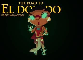 Chibi Tzekel-kan from The Road To El Dorado by KreatywnKasztan