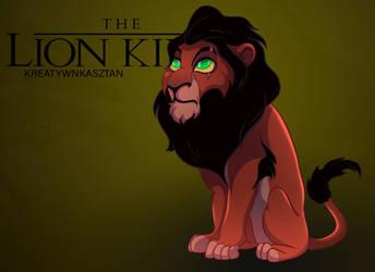 Chibi Scar - The Lion King by KreatywnKasztan