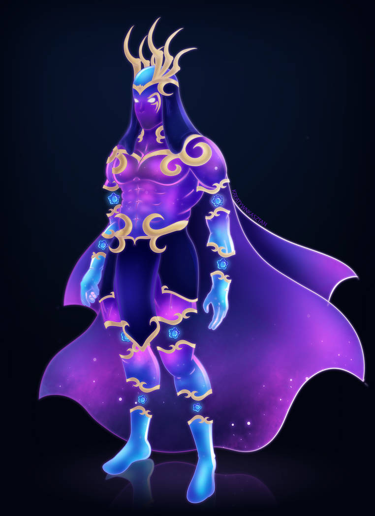 Galaxy Hero Concept by KreatywnKasztan