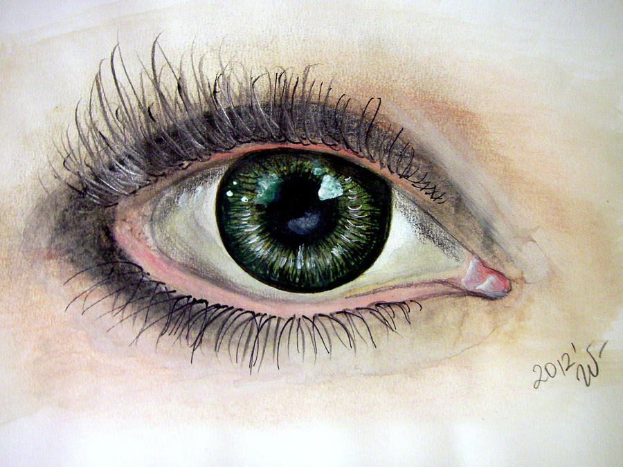 Green eye by ShadeOvWarlock