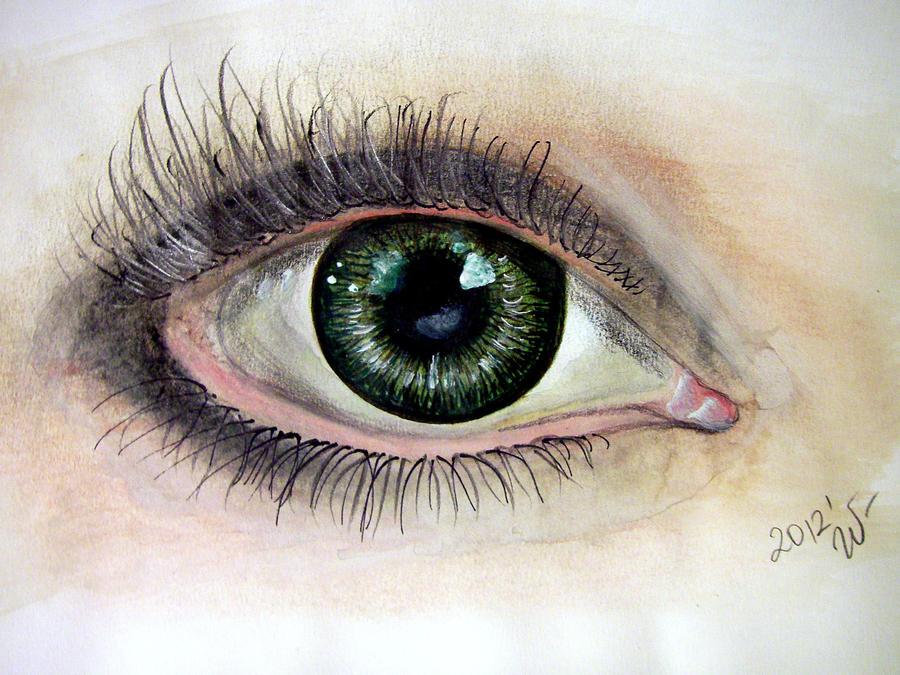Green eye by ShadeOvWarlock
