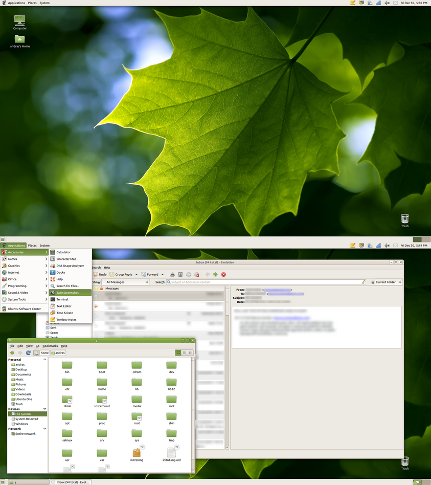 Maple leaf HD by junkie002