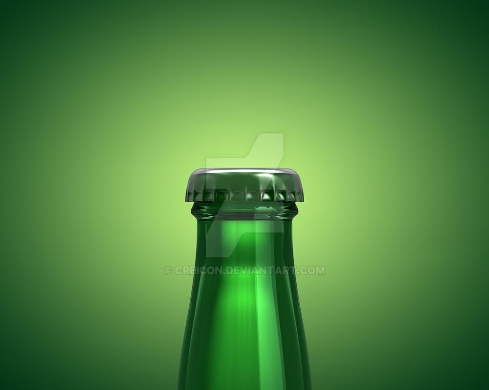 Closeup Carlsberg Bottle C4D by Creicon on DeviantArt