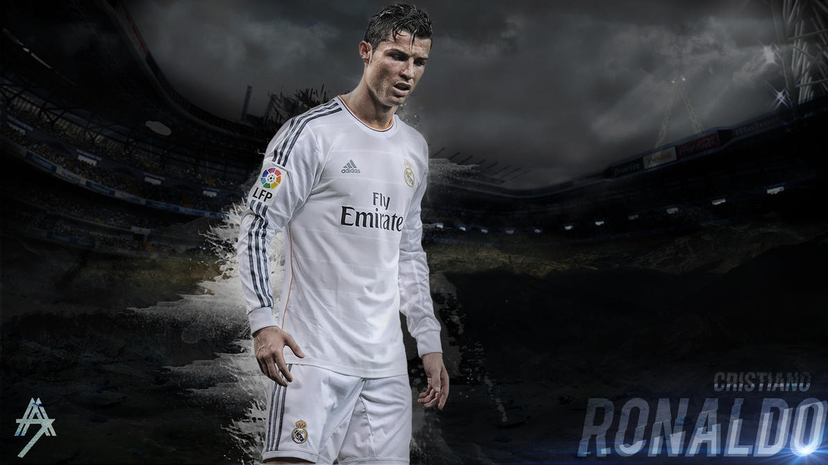 cristiano ronaldo wallpaper hd by abbaszahmed
