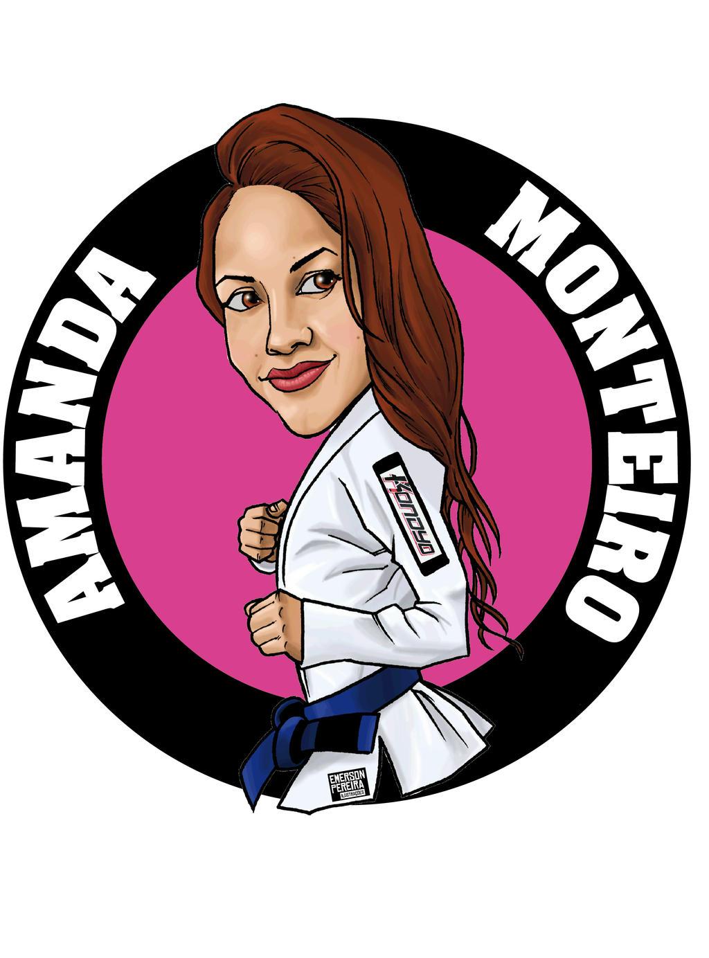 Amanda Monteiro Jiu-Jitsu by emerson-peraira