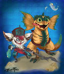 Feeding Time: Kled and Skaarl Updated