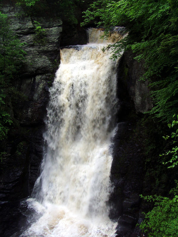 Bushkill Waterfalls by Stoked-Stock