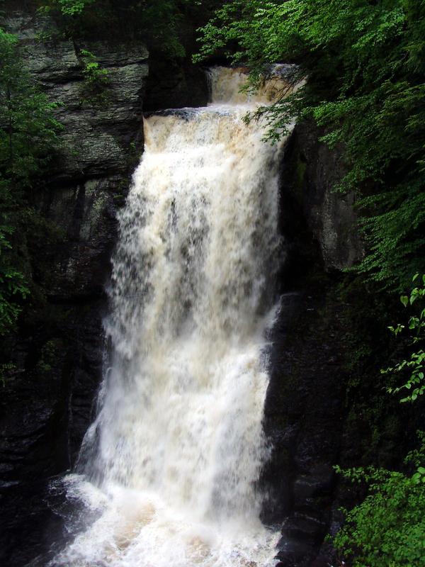 Bushkill Waterfalls by Stoked-Stock