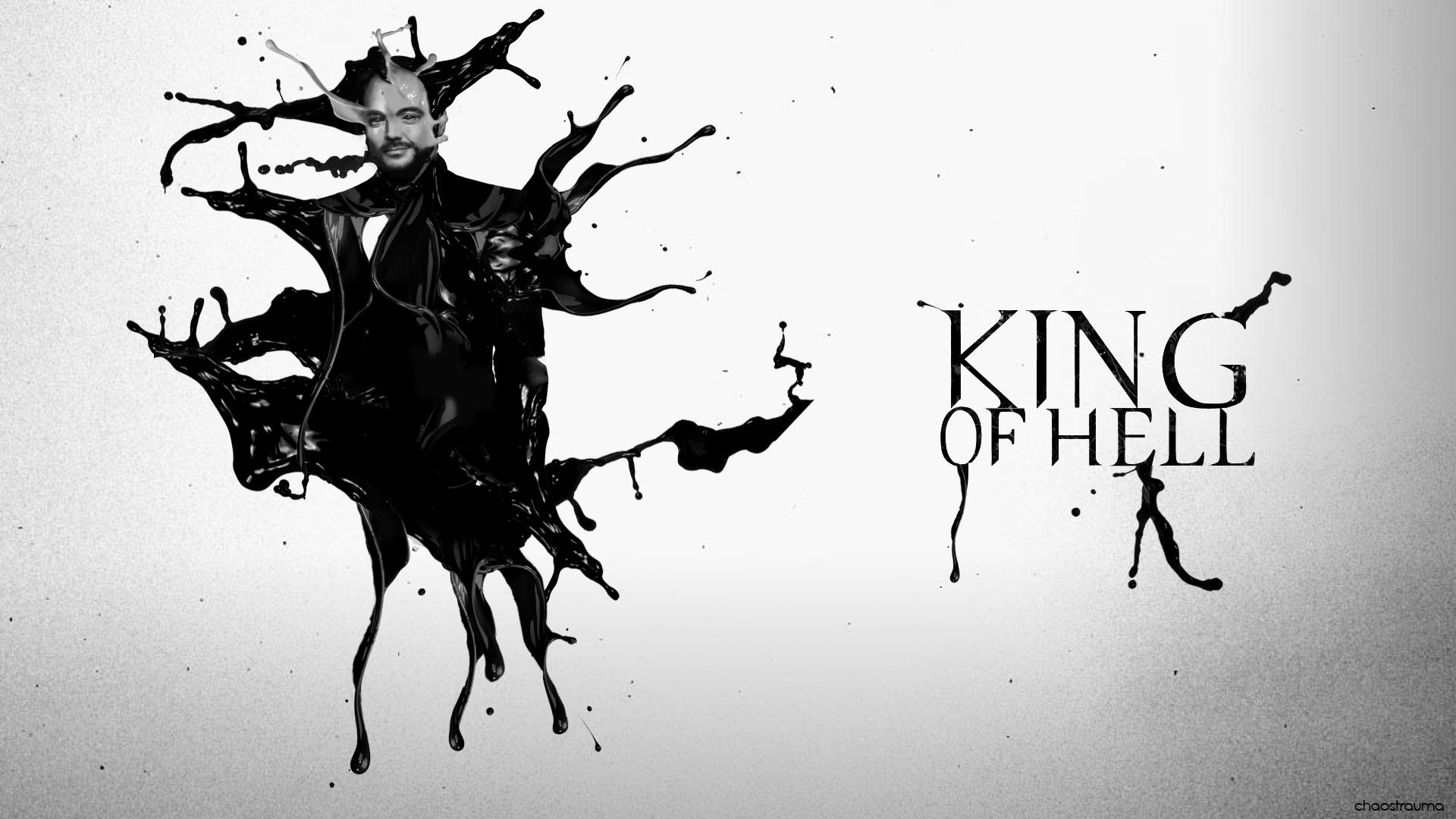 Supernatural Crowley King Of Hell Wallpaper By Chaostrauma