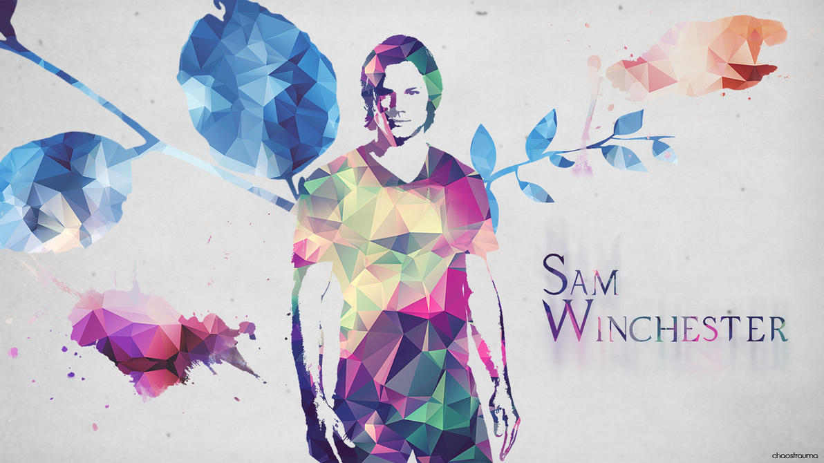 Supernatural Wallpaper - Sam Winchester by chaostraumaSupernatural Wallpaper Sam