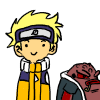 Naruto and Gamabunta Icon (Free) by MrThesaurus