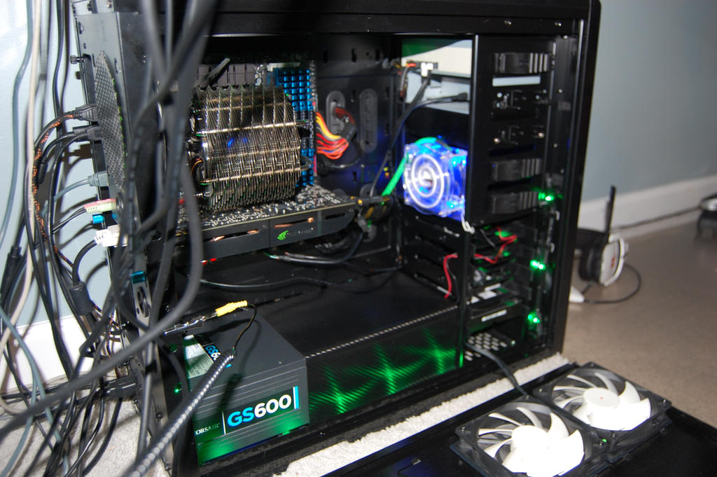 Carbon Fiber PSU Shroud by XSirSlaughterX on DeviantArt