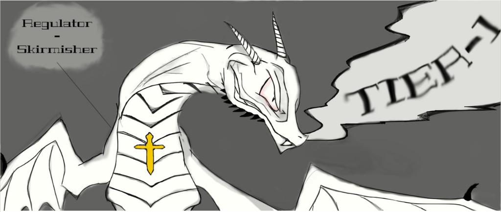 Regulator Skirmisher V2 - Tier-1 Character Drawing by Brendan-Franklin13