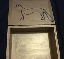 Wepwawet shrine box inside