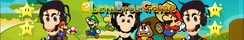 My new YouTube cover picture! by LemMarioLuigiRacer