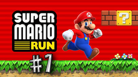 I'm playing with Super Mario Run. by LemMarioLuigiRacer