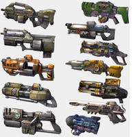 Unreal Tournament 2003 Weaponry