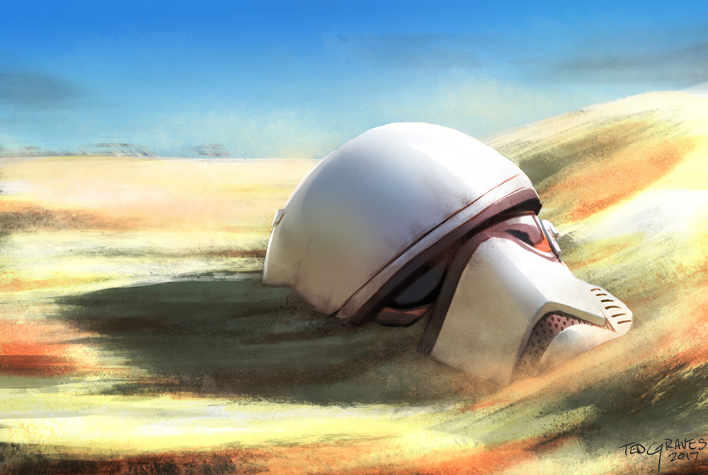 Stormtrooper Helmet by Zombie-Graves