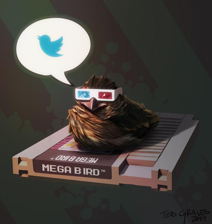 Nerd Bird by Zombie-Graves