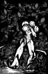 Samus VS Aliens Inks