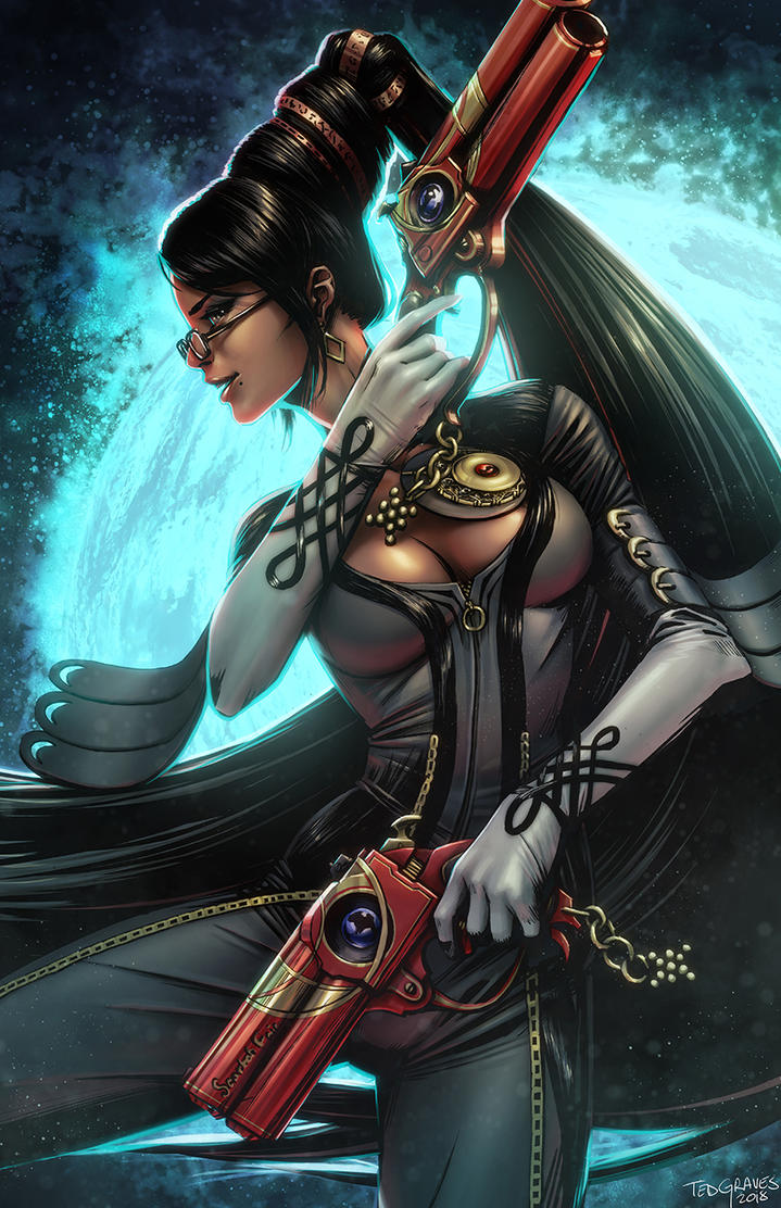 Bayonetta by Zombie-Graves
